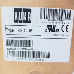 KUKA KSD1-16 MICROPROCESSOR New AUTOMATION Controller MODULE DCS PLC Module